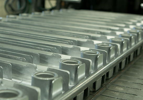 Proceso de fabricación de radiador de aluminio